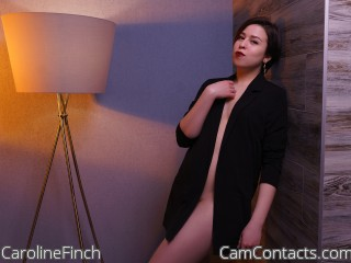 Start VIDEO CHAT with CarolineFinch