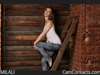 Webcam model MILALI from CamContacts