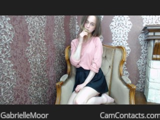 Start VIDEO CHAT with GabrielleMoor
