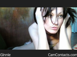 Webcam model Ginnie from CamContacts