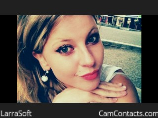 Webcam model LarraSoft from CamContacts