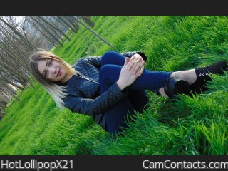 Start VIDEO CHAT with HotLollipopX21