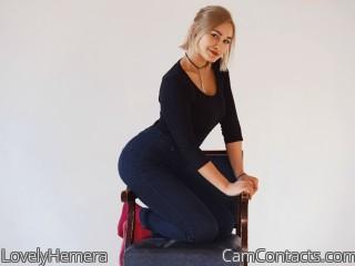 Webcam model LovelyHemera from CamContacts