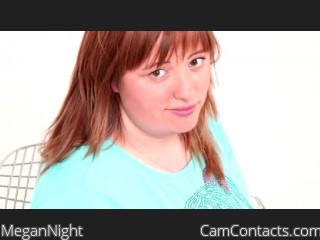 Webcam model MeganNight from CamContacts