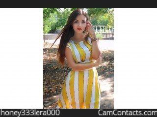 Webcam model honey333lera000 from CamContacts