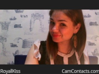 Webcam model RoyallKiss from CamContacts