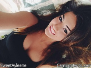 Webcam model SweetAyleene from CamContacts