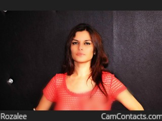 Webcam model Rozalee from CamContacts