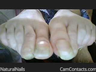 Webcam model NaturalNails from CamContacts