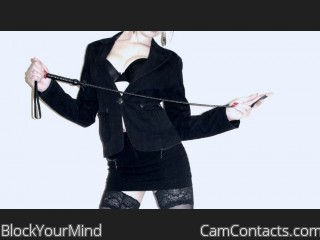 Start VIDEO CHAT with BlockYourMind