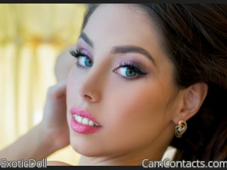Webcam model ExoticDoll from CamContacts