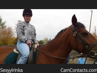 Webcam model SexyyIrinka from CamContacts