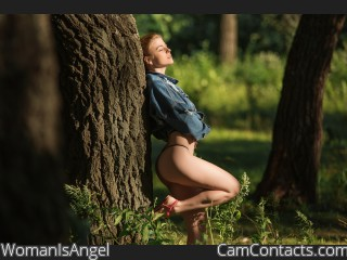 Start VIDEO CHAT with WomanIsAngel