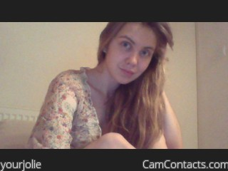 Webcam model yourjolie from CamContacts