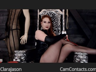 Start VIDEO CHAT with ClaraJason