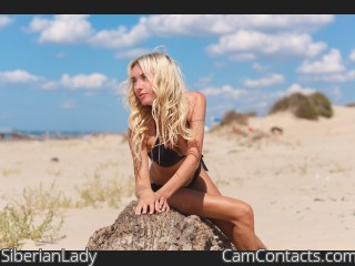 Webcam model SiberianLady from CamContacts