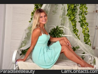 Webcam model ParadiseeBeauty from CamContacts