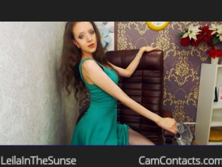 Start VIDEO CHAT with LeilaInTheSunse