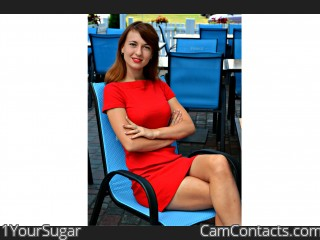 Webcam model 1YourSugar from CamContacts