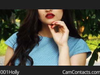 Start VIDEO CHAT with 001Holly