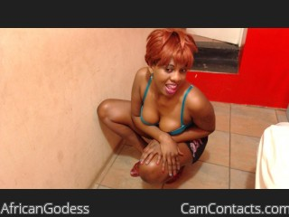 Start VIDEO CHAT with AfricanGodess