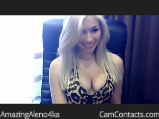 Start VIDEO CHAT with AmazingAleno4ka
