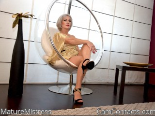 Start VIDEO CHAT with MatureMistress