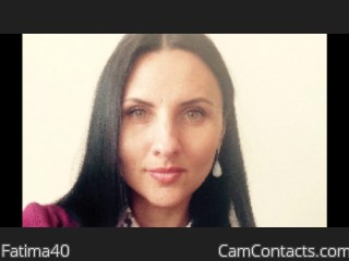 Start VIDEO CHAT with Fatima40
