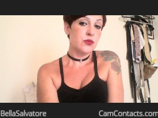 Start VIDEO CHAT with BellaSalvatore