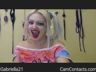 Start VIDEO CHAT with Gabriella21