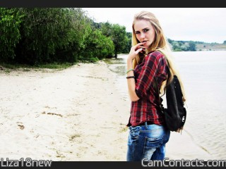 Webcam model Liza18new from CamContacts