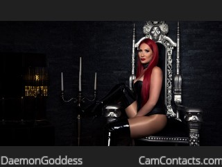 Start VIDEO CHAT with DaemonGoddess