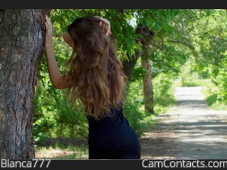 Webcam model Bianca777 from CamContacts
