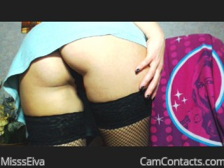 Webcam model MisssEiva from CamContacts