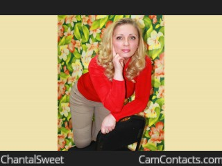 Webcam model ChantalSweet from CamContacts
