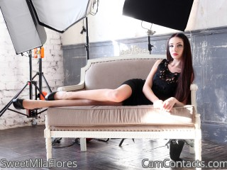 Start VIDEO CHAT with SweetMilaFlores