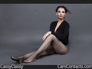 Webcam model CassyClassy from CamContacts