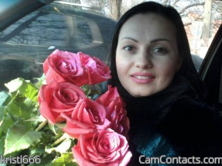 Webcam model kristi666 from CamContacts