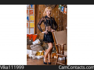 Webcam model Vika111999 from CamContacts
