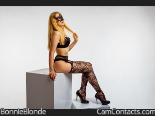 Webcam model BonnieBlonde from CamContacts