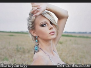 Webcam model BlondyCandyy from CamContacts