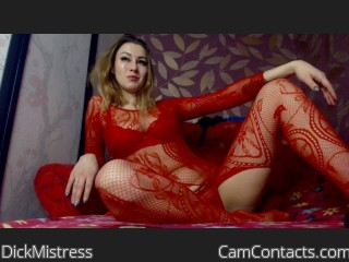 Start VIDEO CHAT with DickMistress