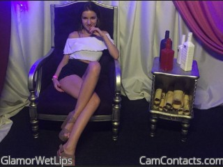 Start VIDEO CHAT with GlamorWetLips