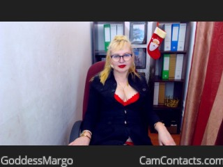 Start VIDEO CHAT with GoddessMargo