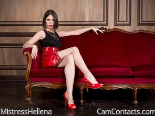 Start VIDEO CHAT with MistressHellena