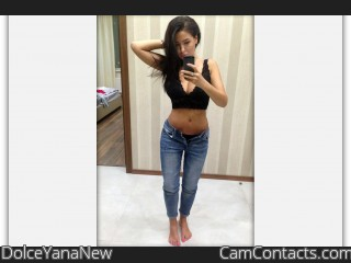Webcam model DolceYanaNew from CamContacts
