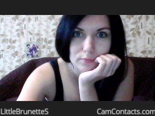 Webcam model LittleBrunetteS from CamContacts