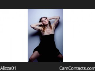 Webcam model Alizza01 from CamContacts