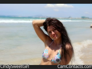 Start VIDEO CHAT with CindySweetGirl