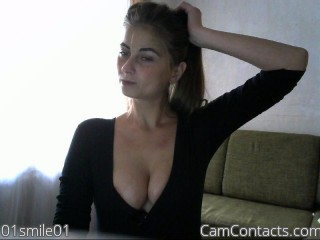Webcam model 01smile01 from CamContacts